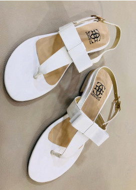 Grace Up Shoes Casual Style  Flat Shoes 661 White