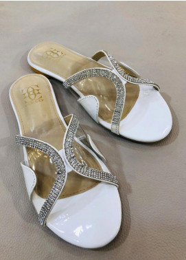 Grace Up Shoes Casual Style  Flat Shoes 674 White