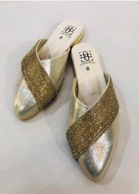 Grace Up Shoes Casual Style  Flat Shoes 675 Golden