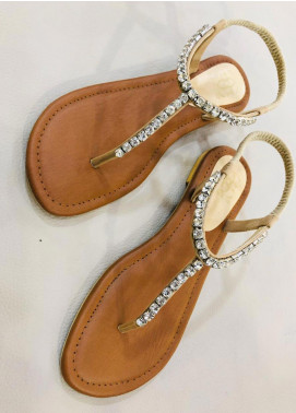 Grace Up Shoes Casual Style  Flat Shoes 676 Fawn