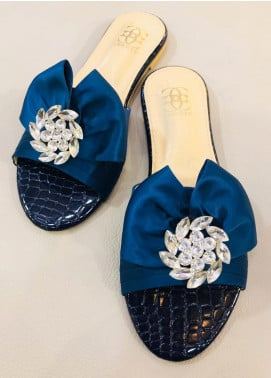 Grace Up Shoes Casual Style  Flat Shoes 677 Blue