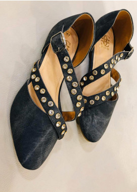 Grace Up Shoes Casual Style  Flat Shoes 680 Black