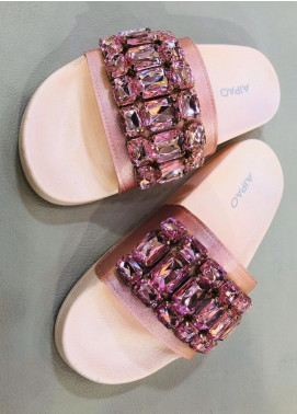 Grace Up Shoes Casual Style  Flat Shoes A83 Pink