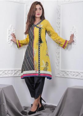 Nargis Shaheen Printed Lawn Stitched 2 Piece Suit GA-01-20