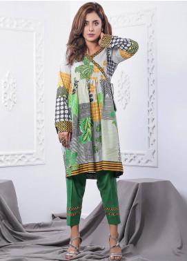 Nargis Shaheen Printed Lawn Stitched 2 Piece Suit GA-06-20