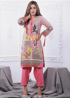 Nargis Shaheen Printed Lawn Stitched 2 Piece Suit GA-07-20