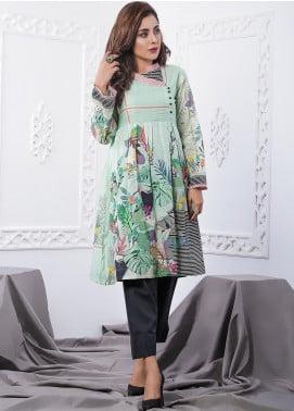 Nargis Shaheen Printed Lawn Stitched 2 Piece Suit GA-08-20