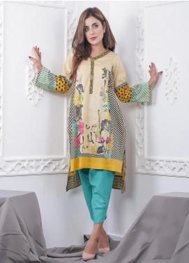 Nargis Shaheen Printed Lawn Stitched 2 Piece Suit GA-10-20