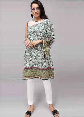 Gul Ahmed Printed Cotton Unstitched Kurties GAB19-L3 SL-744 - Mid Summer Collection