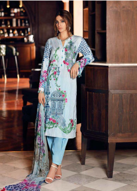 Gul Ahmed Embroidered Cambric Unstitched 3 Piece Suit GA19CF BM-132 - Mid Summer Collection