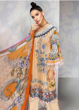 Gul Ahmed Embroidered Cambric Unstitched 3 Piece Suit GA19CF BM-133 - Mid Summer Collection