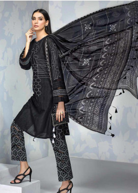 Gul Ahmed Embroidered Lawn Unstitched 3 Piece Suit GA19CF BM-141 - Mid Summer Collection