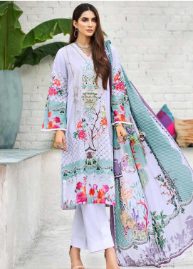 Gul Ahmed Embroidered Cambric Unstitched 3 Piece Suit GA19CF CBE-105 - Mid Summer Collection