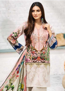 Gul Ahmed Embroidered Cambric Unstitched 3 Piece Suit GA19CF CBE-106 - Mid Summer Collection
