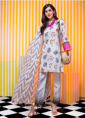 Gul Ahmed Embroidered Cambric Unstitched 3 Piece Suit GA19CF CBE-108 - Mid Summer Collection