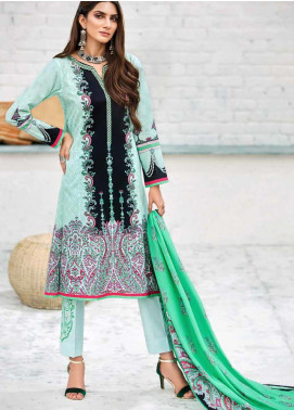 Gul Ahmed Embroidered Cambric Unstitched 3 Piece Suit GA19CF CBE-94 - Mid Summer Collection