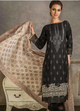 Gul Ahmed Embroidered Cotton Net Unstitched 3 Piece Suit GA19CF MJ-13 - Mid Summer Collection