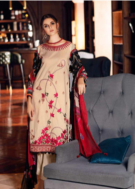 Gul Ahmed Embroidered Jacquard Unstitched 3 Piece Suit GA19CF SSM-28 - Mid Summer Collection
