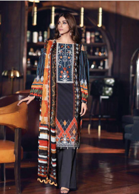 Gul Ahmed Embroidered Jacquard Unstitched 3 Piece Suit GA19CF SSM-31 - Mid Summer Collection