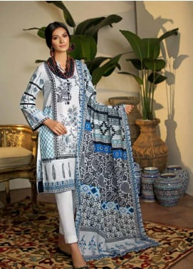 Gul Ahmed Printed Cambric Unstitched 2 Piece Suit GA19CF TCN-39 A - Mid Summer Collection