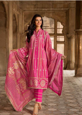 Gul Ahmed Printed Cambric Unstitched 2 Piece Suit GA19CF TCN-49 - Mid Summer Collection