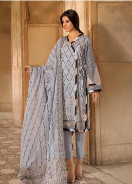Gul Ahmed Printed Cambric Unstitched 2 Piece Suit GA19CF TCN-50 - Mid Summer Collection