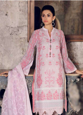 Gul Ahmed Embroidered Cotton Unstitched 3 Piece Suit GA19E FE-234 - Eid Collection