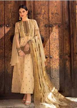 Gul Ahmed Embroidered Missouri Unstitched 3 Piece Suit GA19E FE-241 - Eid Collection