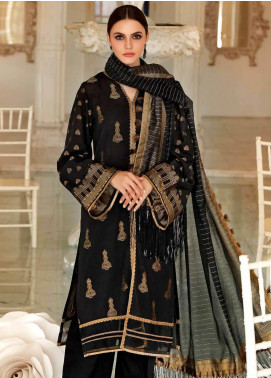 Gul Ahmed Printed Jacquard Unstitched 3 Piece Suit GA20FP 268 - Festive Collection