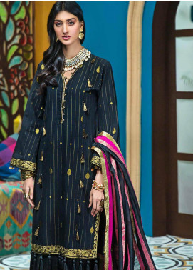 Gul Ahmed Embroidered Jacquard Unstitched 3 Piece Suit GA20FP 284 - Festive Collection