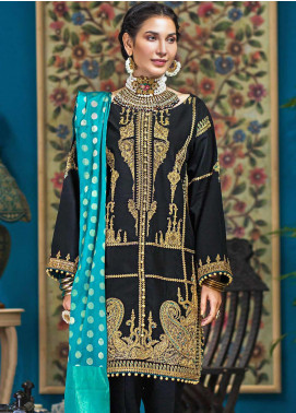 Gul Ahmed Embroidered Doria Unstitched 3 Piece Suit GA20FP 287 - Festive Collection