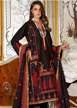 Gul Ahmed Embroidered Silk Unstitched 3 Piece Suit GA20FP 294 - Festive Collection