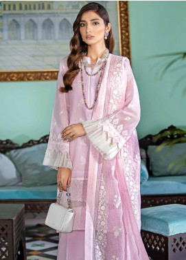 Gul Ahmed Embroidered Viscose Unstitched 3 Piece Suit GA20FP 341 - Festive Collection