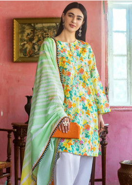 Gul Ahmed Embroidered Lawn Unstitched 2 Piece Suit GA20FP 363 - Festive Collection
