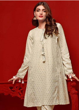 Gul Ahmed Printed Dobby Unstitched Kurties GA20FP 367 - Festive Collection
