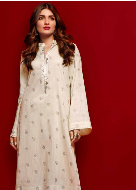 Gul Ahmed Printed Dobby Unstitched Kurties GA20FP 368 - Festive Collection