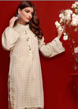 Gul Ahmed Printed Dobby Unstitched Kurties GA20FP 369 - Festive Collection