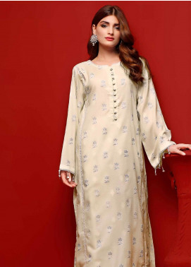 Gul Ahmed Printed Dobby Unstitched Kurties GA20FP 371 - Festive Collection