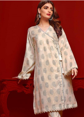 Gul Ahmed Printed Dobby Unstitched Kurties GA20FP 372 - Festive Collection