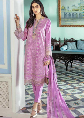 Gul Ahmed Embroidered Cotton Silk Unstitched 3 Piece Suit GA20GL FE-322 - Winter Collection
