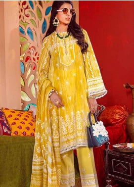 Gul Ahmed Embroidered Organza Unstitched 3 Piece Suit GA20GL FE-353 - Winter Collection