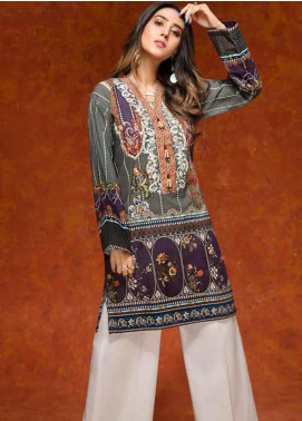 Gul Ahmed Embroidered Cotton Unstitched Kurties GAG19W SK-70 - Winter Collection
