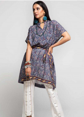 Gul Ahmed Printed Cotton Unstitched Kurties GAG19W SK-75 - Winter Collection
