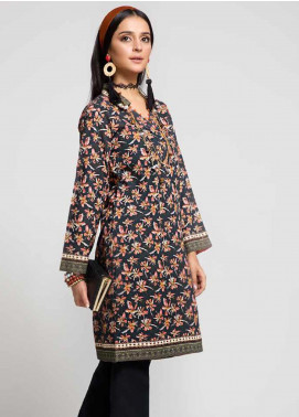 Gul Ahmed Printed Cotton Unstitched Kurties GAG19W SK-82 - Winter Collection