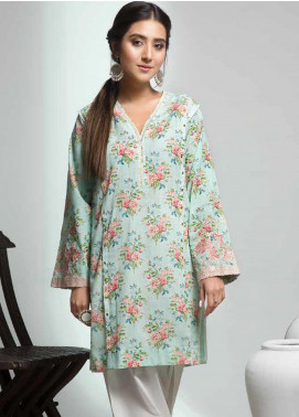Gul Ahmed Embroidered Cotton Unstitched Kurties GAG19W SK-84 - Winter Collection