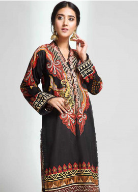 Gul Ahmed Embroidered Cotton Unstitched Kurties GAG19W SK-85 - Winter Collection