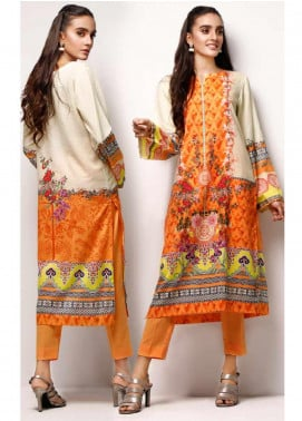 Gul Ahmed Printed Lawn Unstitched 2 Piece Suit GA20SE-5 TLP 01 - Spring / Summer Collection