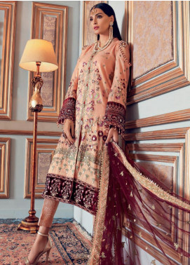 Gul Ahmed Embroidered Missouri Unstitched 3 Piece Suit GA20WD 03 - Wedding Collection