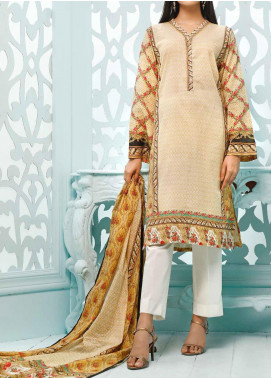 Gul Ahmed Printed Lawn Unstitched 3 Piece Suit GA20ML CLP-33 - Summer Collection