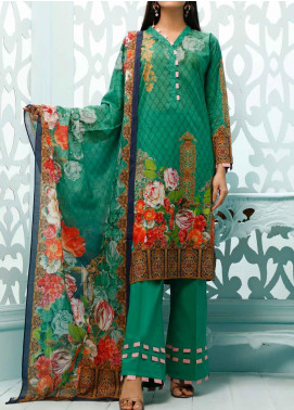 Gul Ahmed Printed Lawn Unstitched 3 Piece Suit GA20ML CLP-37 - Summer Collection